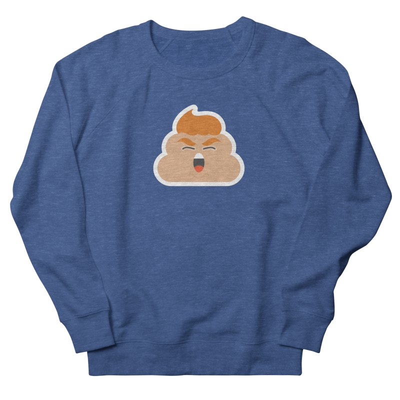 Donald Dump Men's French Terry Sweatshirt by Nick Lacke's Shirt Shop