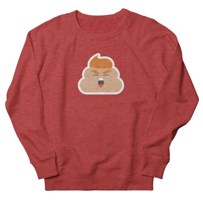 Donald Dump Men's French Terry Sweatshirt by Nick Lacke's Shirt Shop