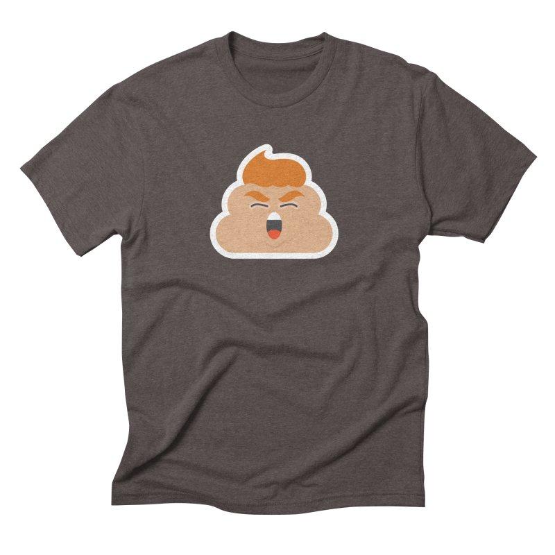Donald Dump Men's Triblend T-Shirt by Nick Lacke's Shirt Shop