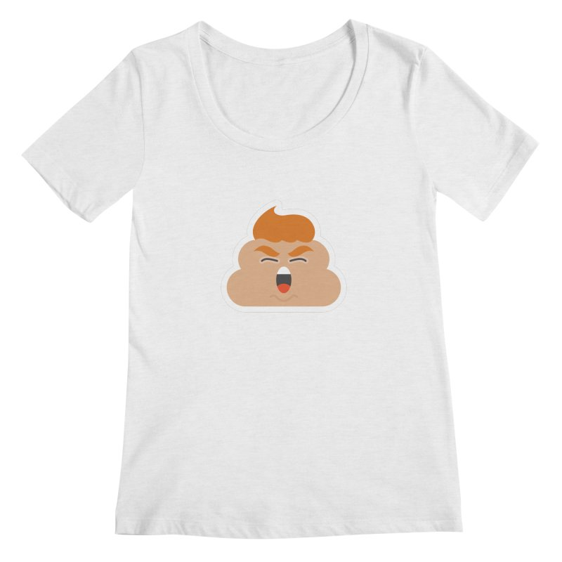 Donald Dump Women's Scoop Neck by Nick Lacke's Shirt Shop