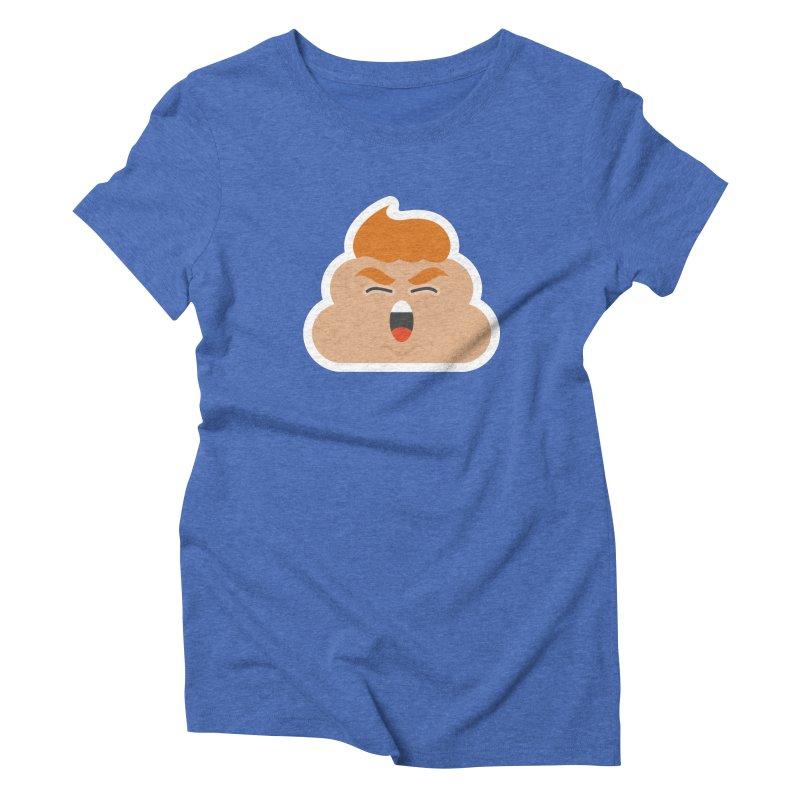 Donald Dump Women's Triblend T-Shirt by Nick Lacke's Shirt Shop