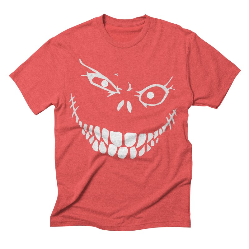 Crazy Monster Grin Men's Triblend T-shirt by Nicklas Gustafsson