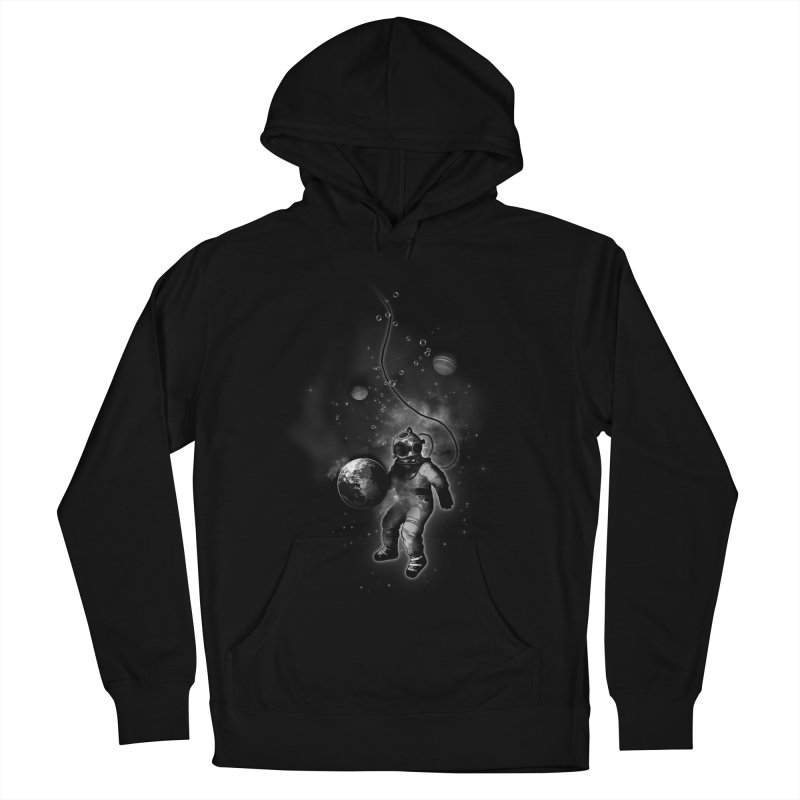 Deep Sea Space Diver Women's Pullover Hoody by Nicklas Gustafsson