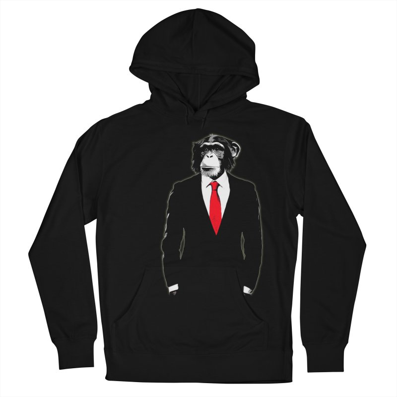Domesticated Monkey Women's Pullover Hoody by Nicklas Gustafsson