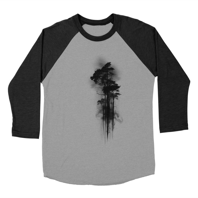 Enchanted Forest Men's Baseball Triblend T-Shirt by Nicklas Gustafsson