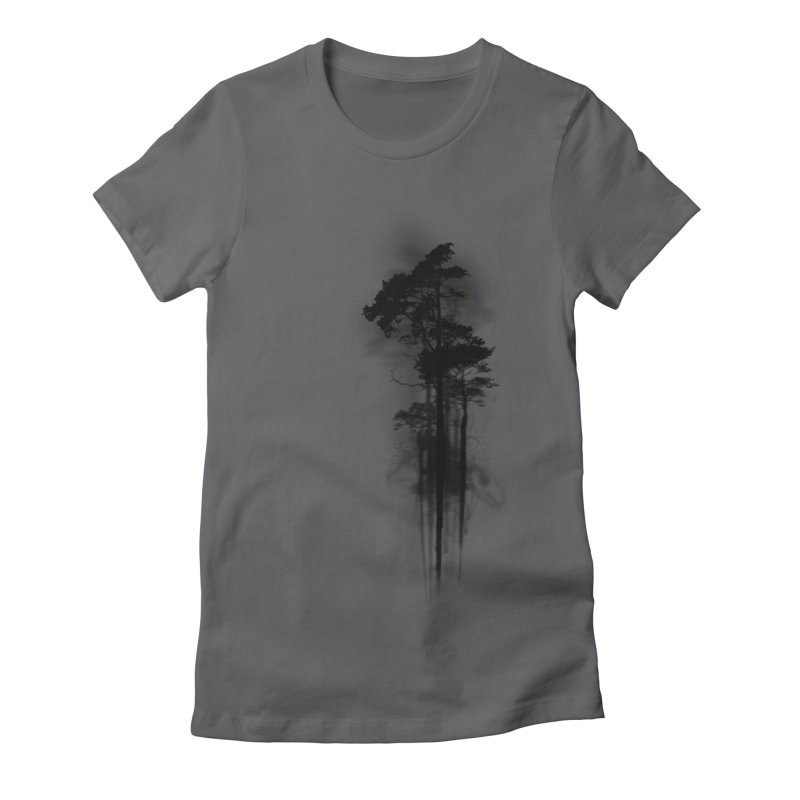 Enchanted Forest Women's Fitted T-Shirt by Nicklas Gustafsson