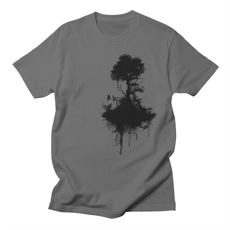 Last Tree Standing Men's T-Shirt by Nicklas Gustafsson