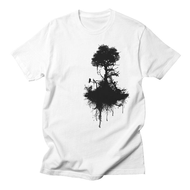 Last Tree Standing Men's T-shirt by Nicklas Gustafsson