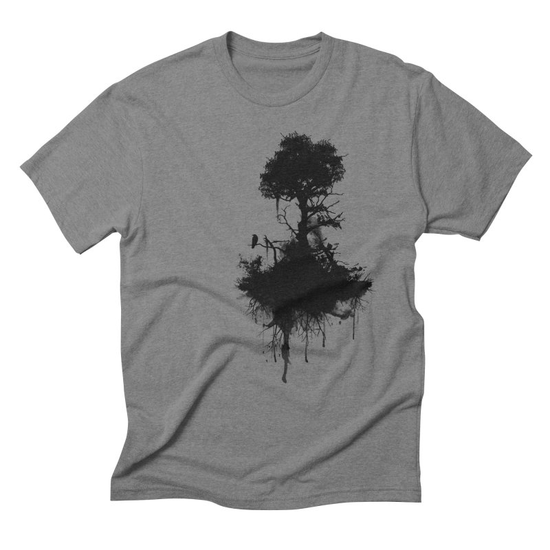 Last Tree Standing Men's Triblend T-Shirt by Nicklas Gustafsson