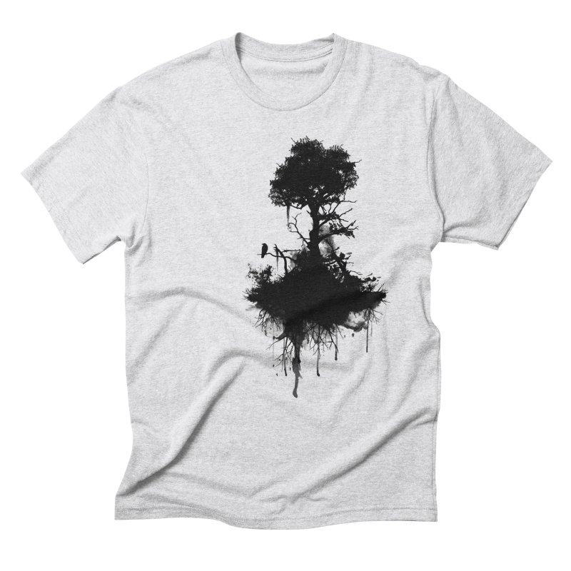 Last Tree Standing Men's Triblend T-Shirt by Nicklas Gustafsson