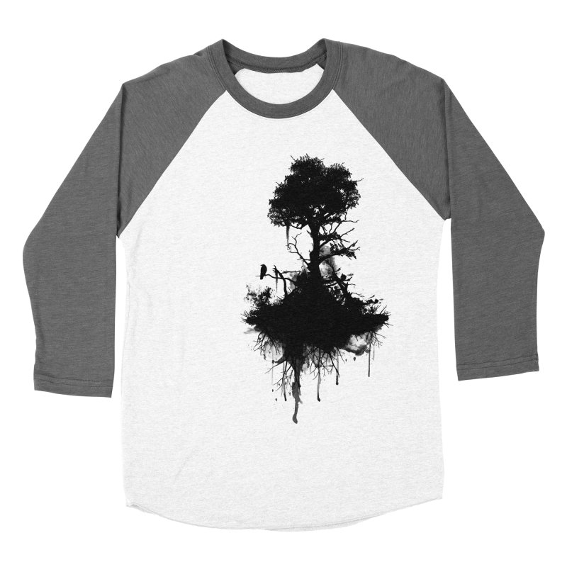 Last Tree Standing Women's Baseball Triblend T-Shirt by Nicklas Gustafsson