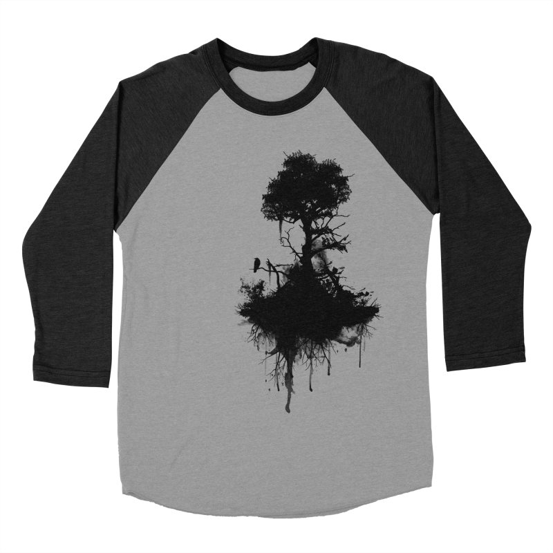 Last Tree Standing Men's Baseball Triblend T-Shirt by Nicklas Gustafsson