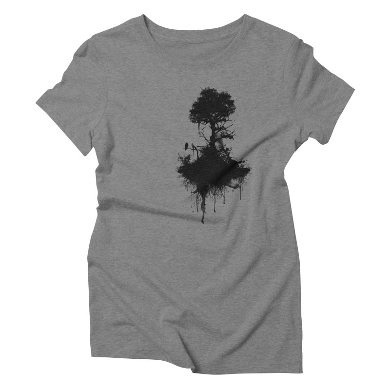 Last Tree Standing Women's Triblend T-Shirt by Nicklas Gustafsson