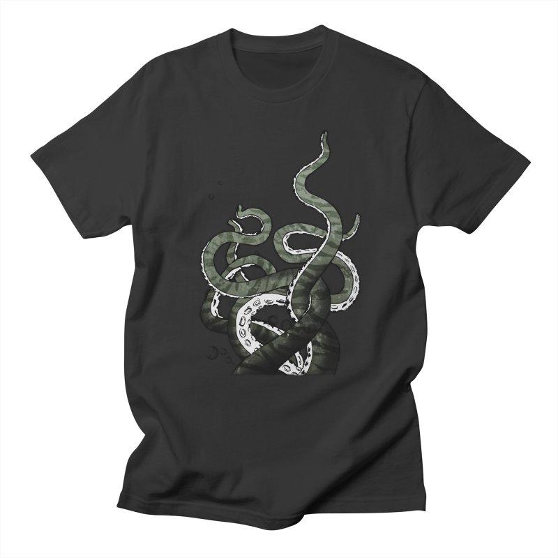 Octopus Tentacles Men's T-shirt by Nicklas Gustafsson