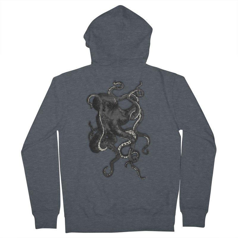 Octopus Women's Zip-Up Hoody by Nicklas Gustafsson