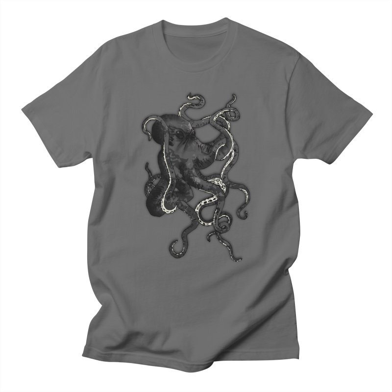 Octopus Men's T-Shirt by Nicklas Gustafsson
