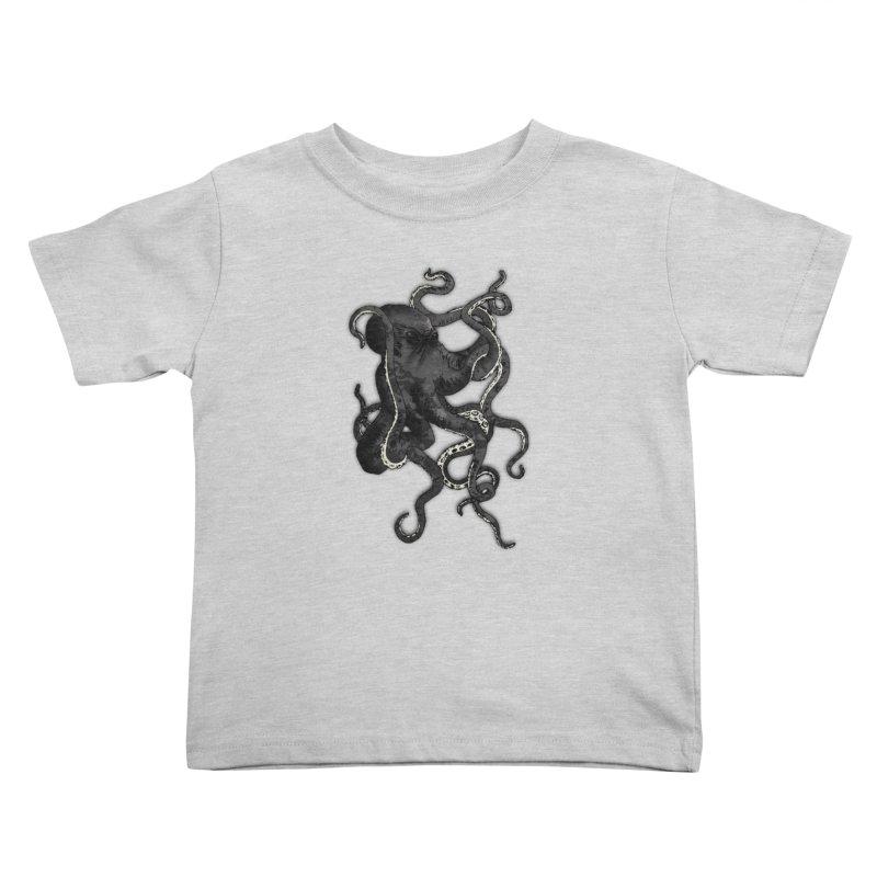 Octopus Kids Toddler T-Shirt by Nicklas Gustafsson