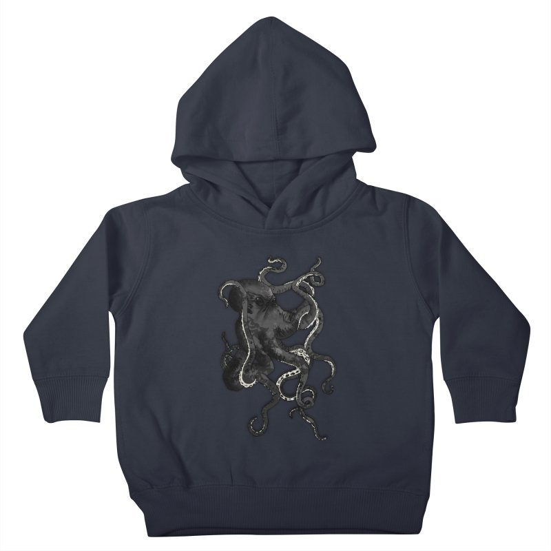Octopus Kids Toddler Pullover Hoody by Nicklas Gustafsson