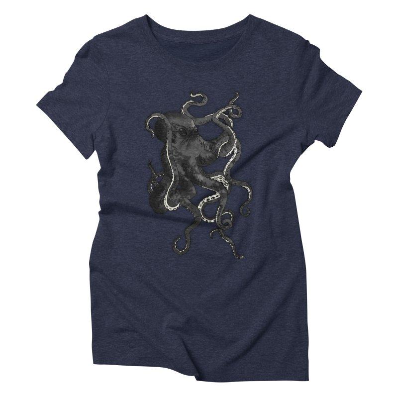 Octopus Women's Triblend T-Shirt by Nicklas Gustafsson
