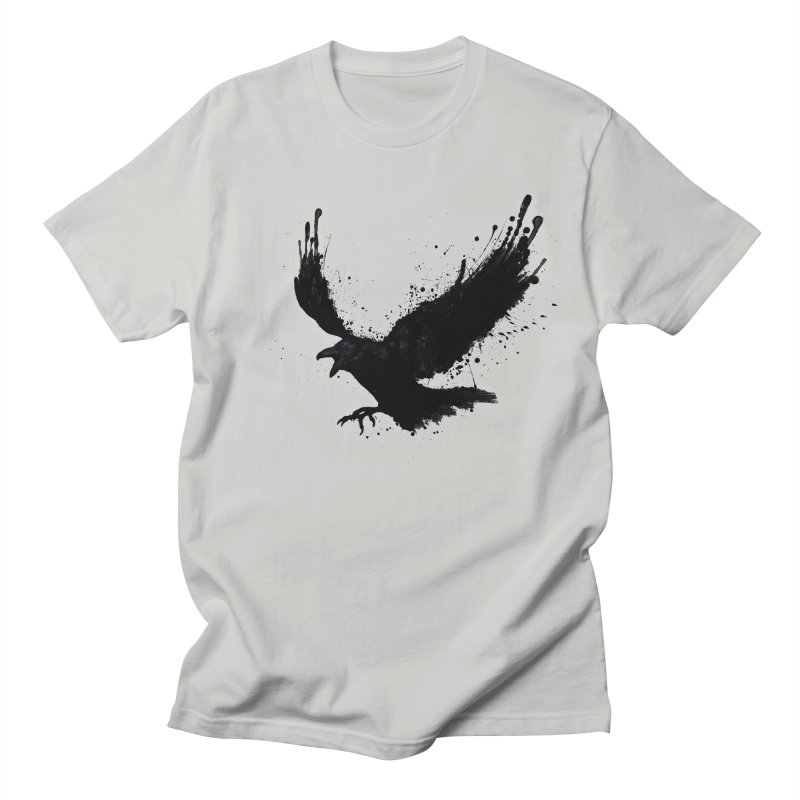 Raven Men's T-Shirt by Nicklas Gustafsson