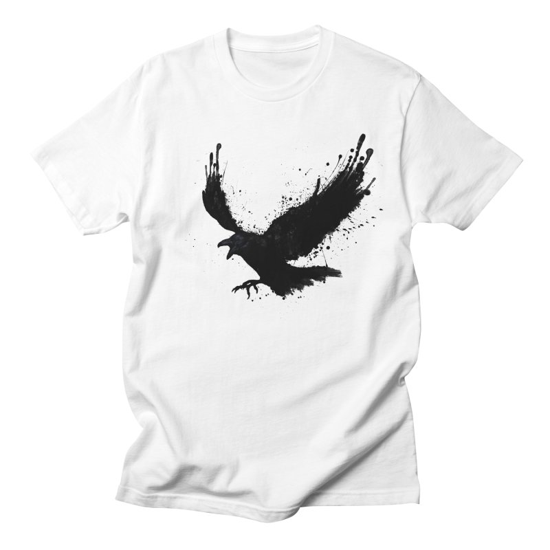 Raven Men's T-shirt by Nicklas Gustafsson