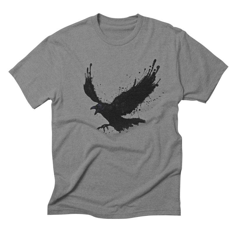 Raven Men's Triblend T-Shirt by Nicklas Gustafsson