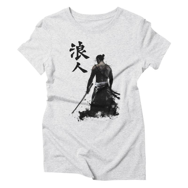 Ronin Women's Triblend T-shirt by Nicklas Gustafsson