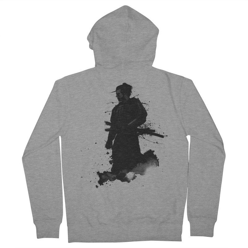 Samurai Men's Zip-Up Hoody by Nicklas Gustafsson