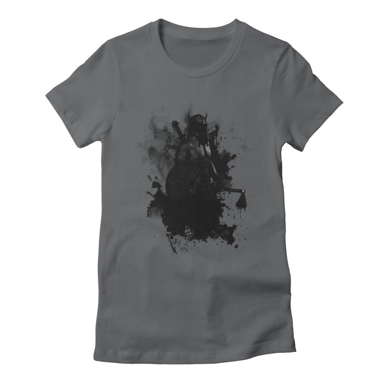 Viking Women's Fitted T-Shirt by Nicklas Gustafsson