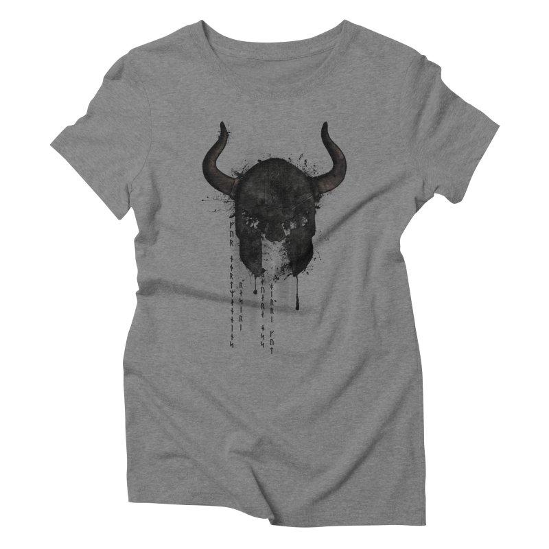 Northmen Women's Triblend T-Shirt by Nicklas Gustafsson