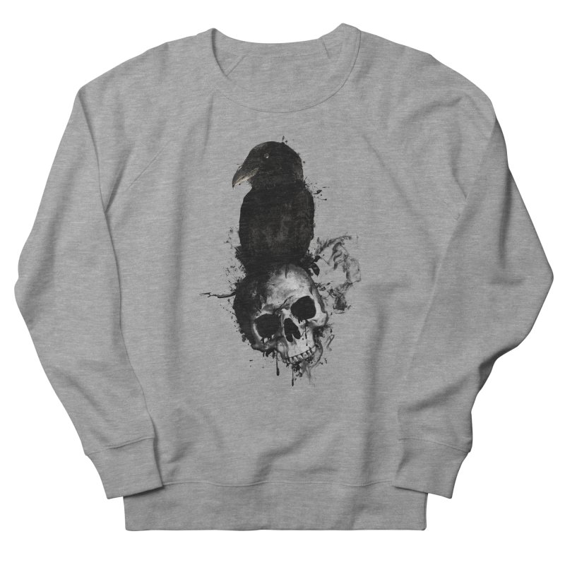 Raven and Skull Women's Sweatshirt by Nicklas Gustafsson