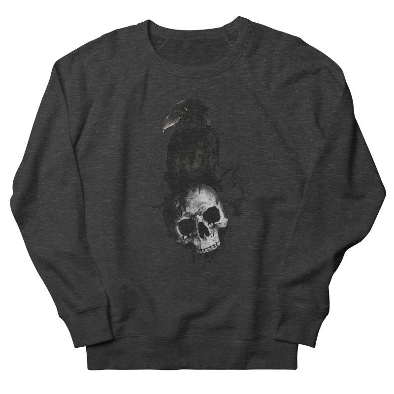 Raven and Skull Men's Sweatshirt by Nicklas Gustafsson