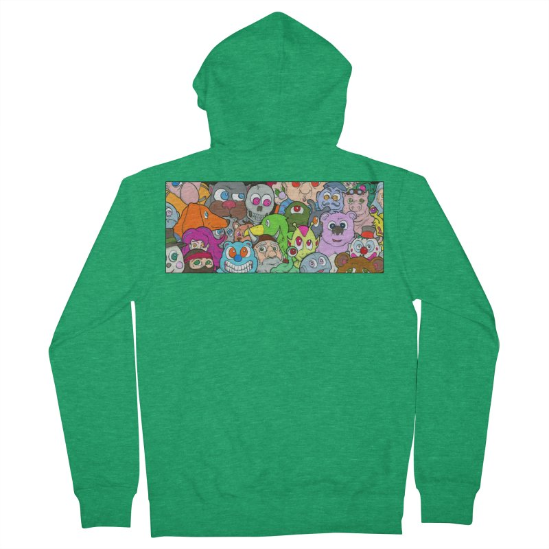 Toybox Women's Zip-Up Hoody by Nick Lee Art's Artist Shop
