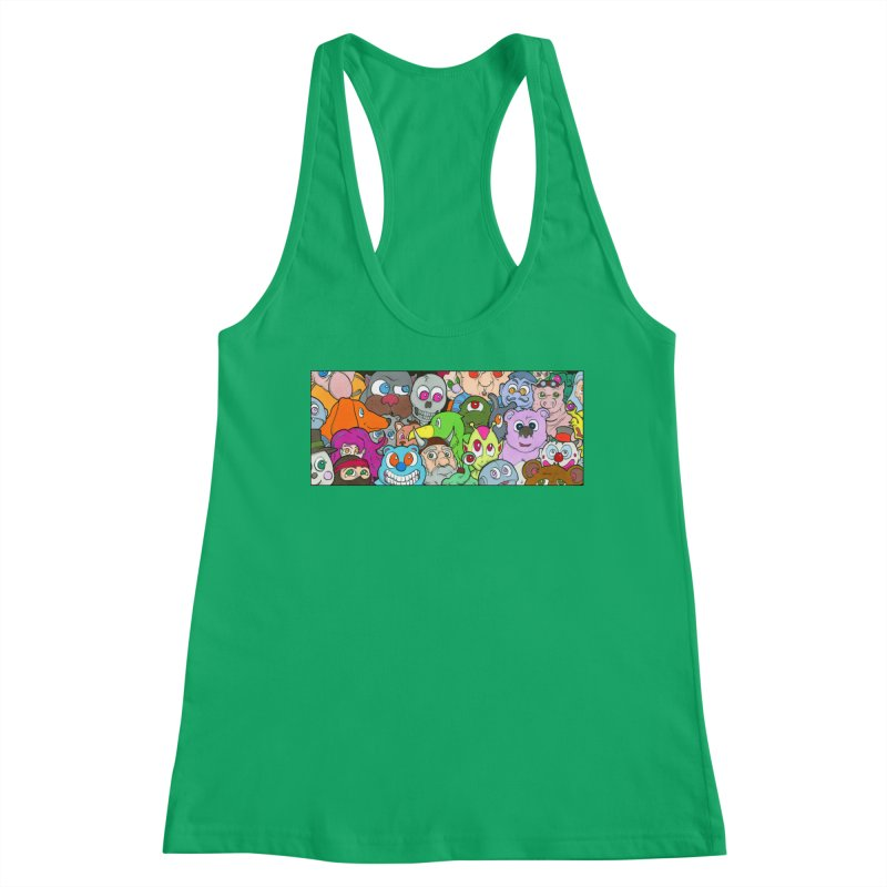 Toybox Women's Tank by Nick Lee Art's Artist Shop