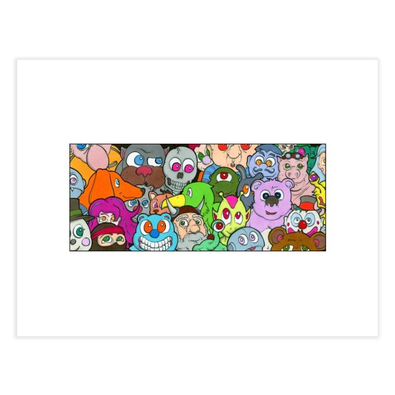 Toybox Home Fine Art Print by Nick Lee Art's Artist Shop