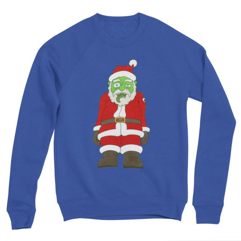 Zombie Santa Women's Sweatshirt by Nick Lee Art's Artist Shop