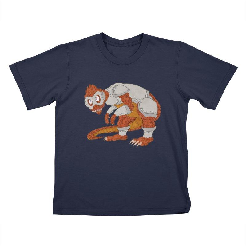 Earth Beast Kids T-Shirt by Nick Lee Art's Artist Shop
