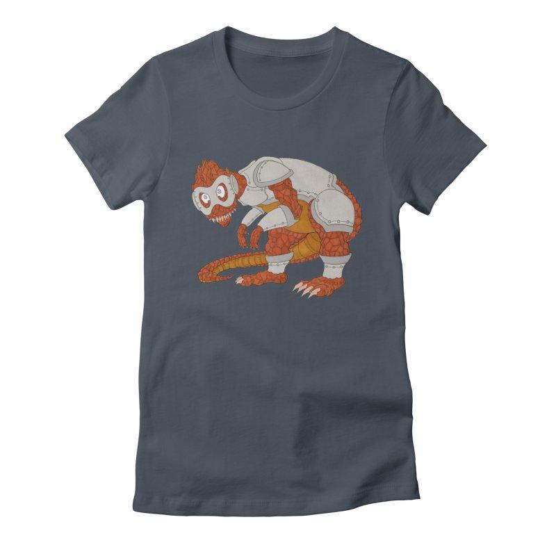 Earth Beast Women's T-Shirt by Nick Lee Art's Artist Shop