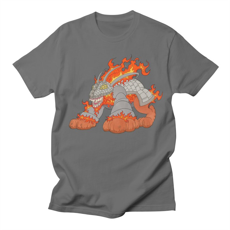 Fire Beast Men's T-Shirt by Nick Lee Art's Artist Shop