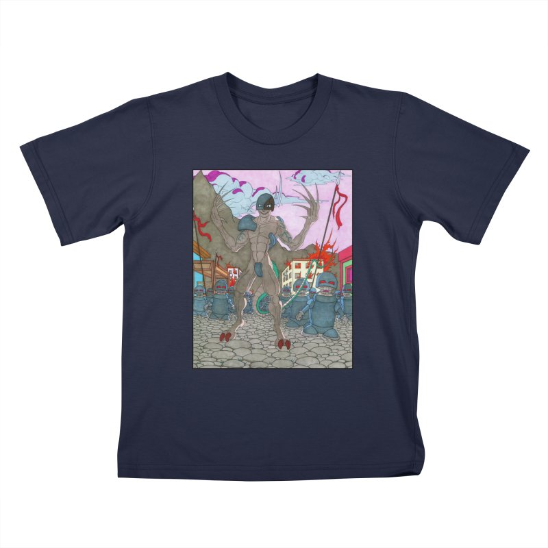 The General Kids T-Shirt by Nick Lee Art's Artist Shop