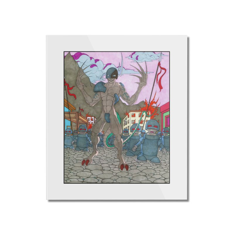 The General Home Mounted Acrylic Print by Nick Lee Art's Artist Shop