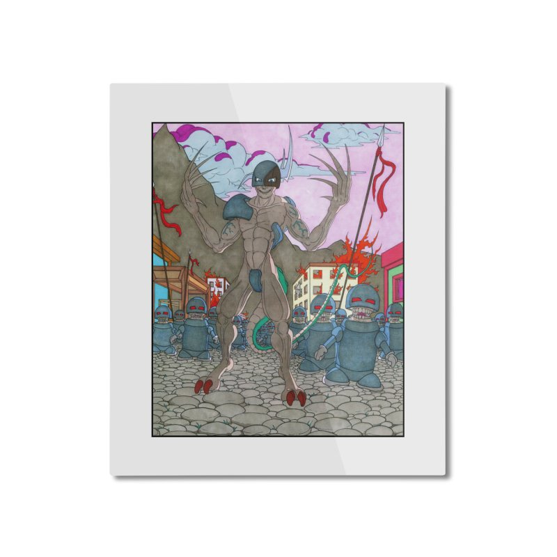 The General Home Mounted Aluminum Print by Nick Lee Art's Artist Shop