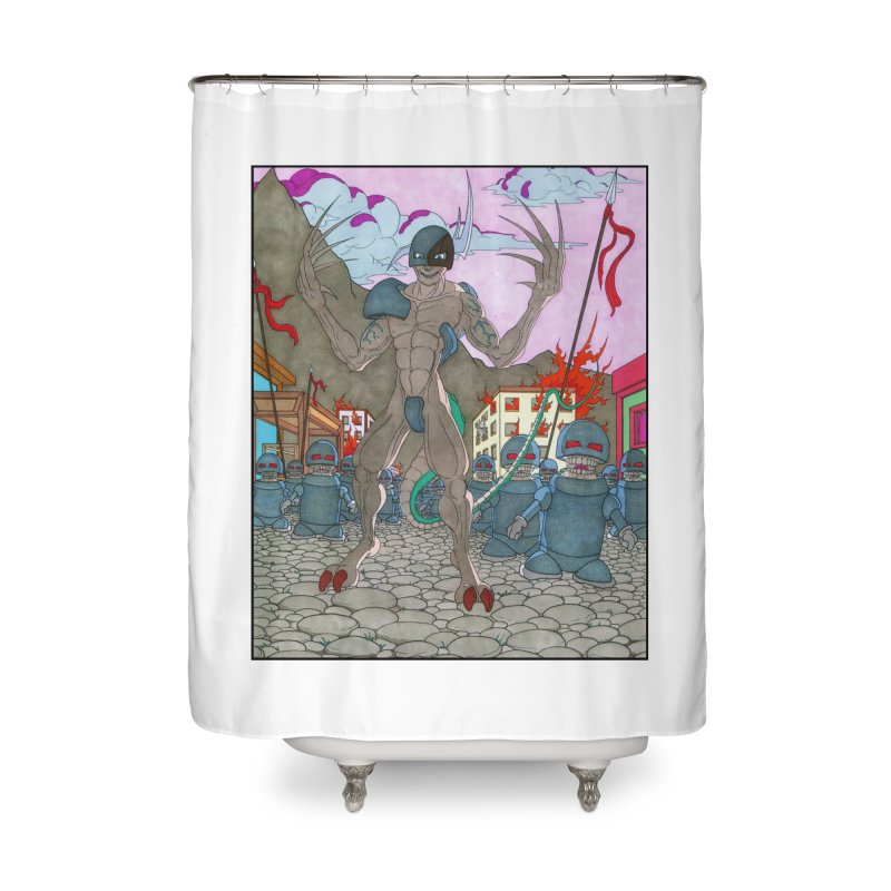 The General Home Shower Curtain by Nick Lee Art's Artist Shop