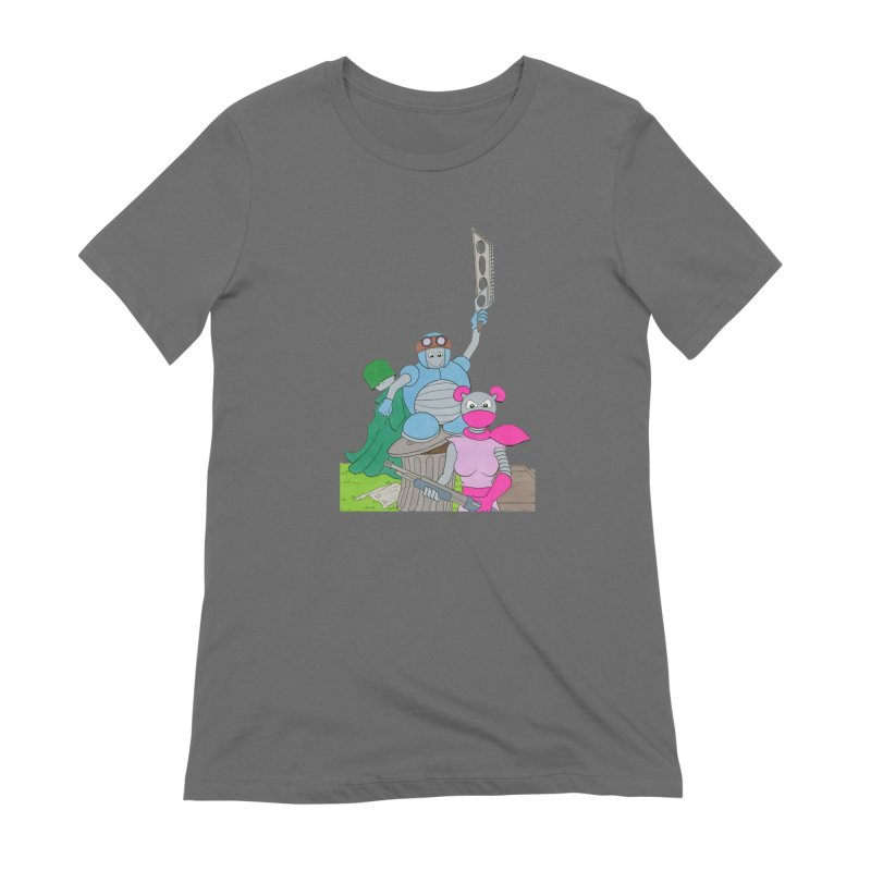 Z-Tech Heroes Women's T-Shirt by Nick Lee Art's Artist Shop