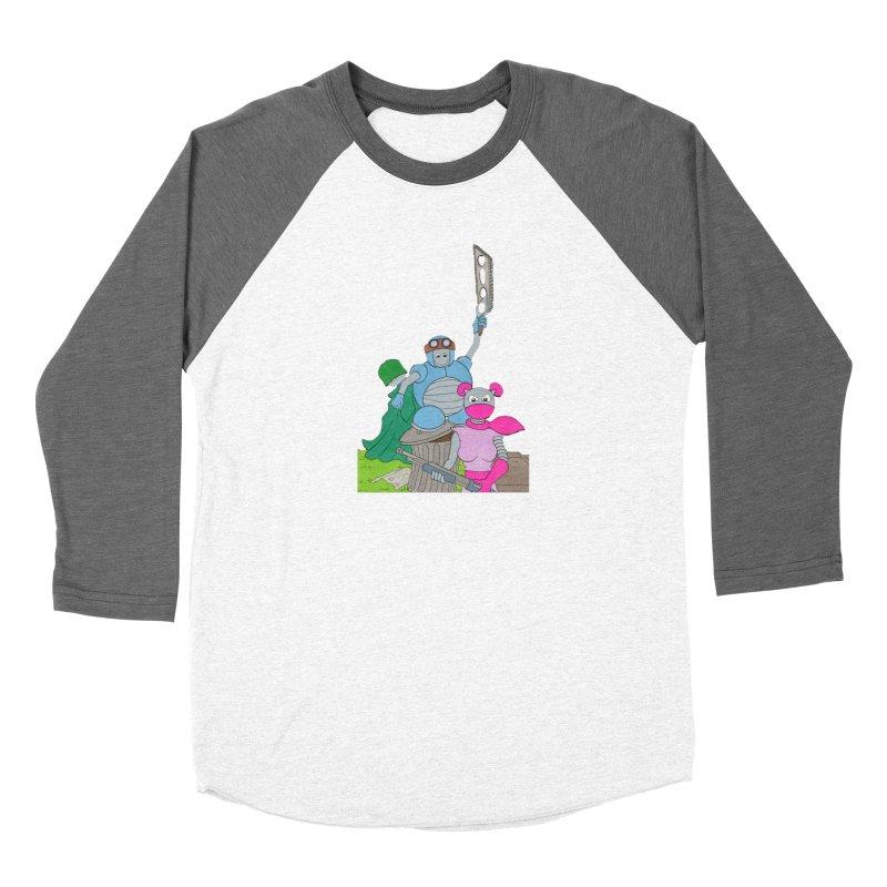 Z-Tech Heroes Women's Longsleeve T-Shirt by Nick Lee Art's Artist Shop