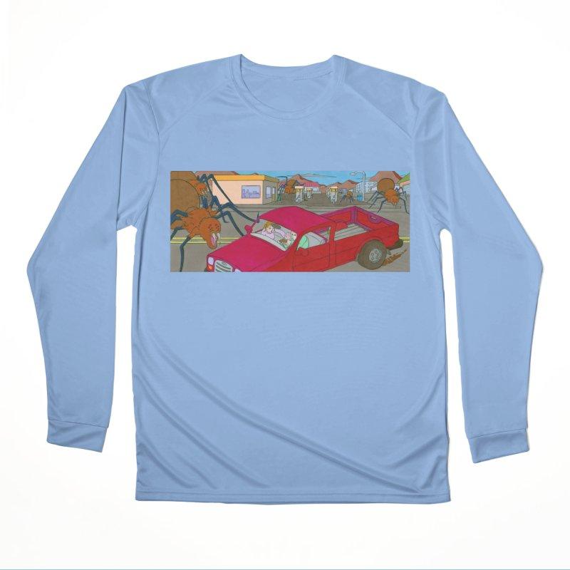 Arach Attack! Men's Longsleeve T-Shirt by Nick Lee Art's Artist Shop