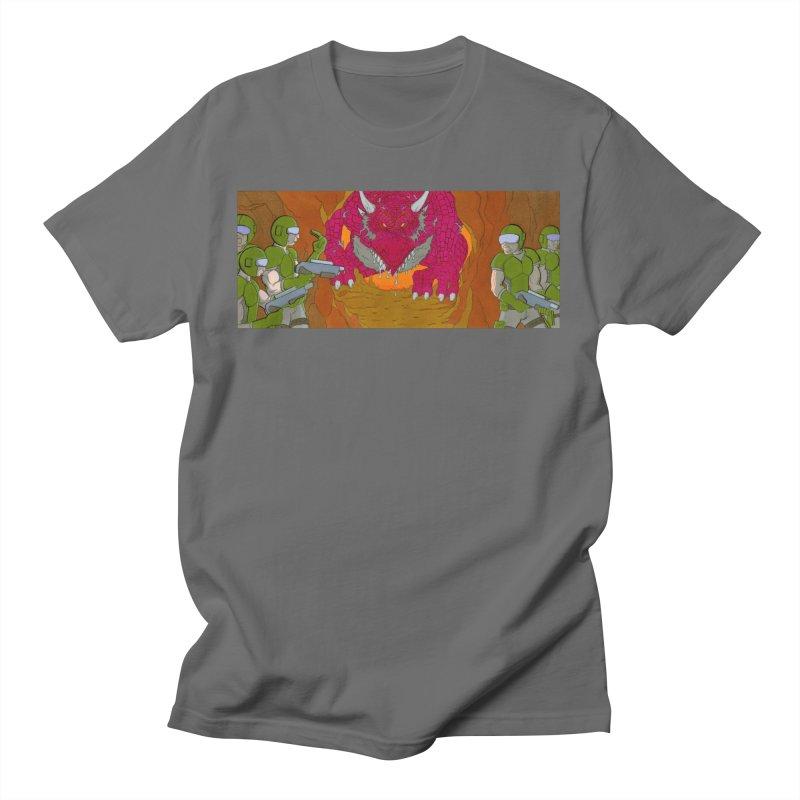 Dragon's Lair Men's T-Shirt by Nick Lee Art's Artist Shop