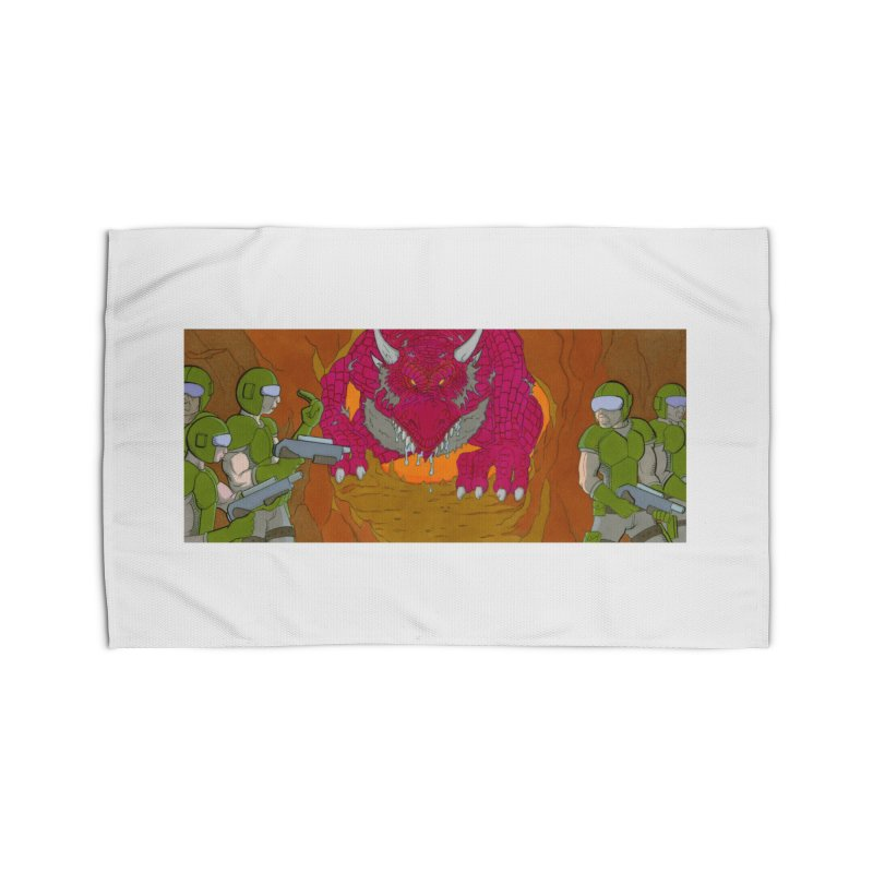 Dragon's Lair Home Rug by Nick Lee Art's Artist Shop