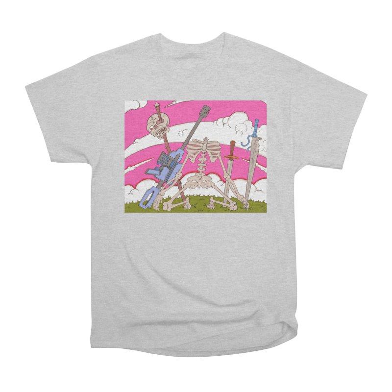 War Skeleton Women's T-Shirt by Nick Lee Art's Artist Shop