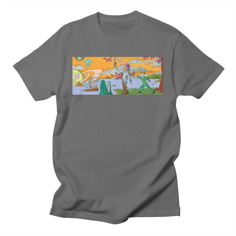 Neverland Men's T-Shirt by Nick Lee Art's Artist Shop